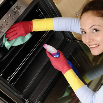 Kitchen, overn, bathroom cleaning services in Delhi NCR